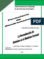 Formulario de Dendrometría 2012