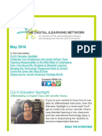 DJLN May 2016 Newsletter