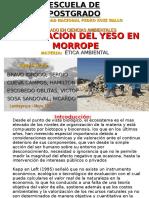 Yeso Morrope
