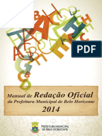 manual de redacao oficial da pbh