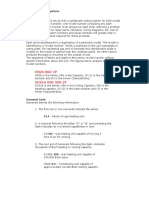 Lennox Model and Serial Nomenclature