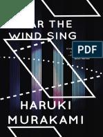 Wind/Pinball (Excerpt)