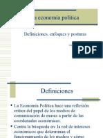 La economía política