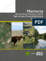 Libro Memorias Foros Servicios Ecosistemicos 2015