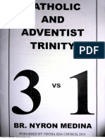 Catholic And Adventist Trinity- 3 vs 1