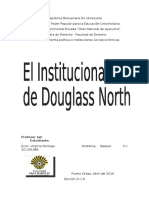 Las instituciones de Douglass North