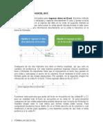 Ingresar Datos en Excel 2013