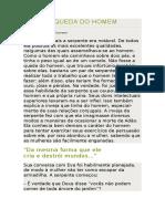 19 - A QUEDA DO HOMEM