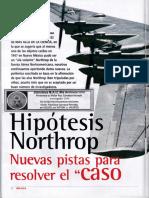 Northrop - Hipótesis Northrop Nuevas Pistas Para Resolver El Caso Roswell R-006 MAS ALLA 2001 Nº001 - VICUFO2
