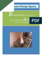 Biodigester Manual
