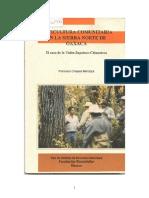 Silvicultura Comunitaria en La Sierra Norte de Oaxaca