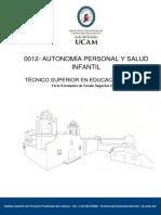 Autonomia Personal y Salud Infantil 1º