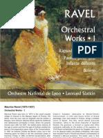 Ravel Orchestral Works, Vol 1
