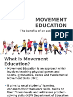 movement education powerpoint