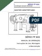 1.1 - Manual de Operação Centrífuga Fp600 Do Lodo