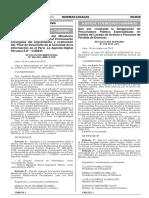 Dan Por Concluida La Designacion de Procuradora Publica Espe Resolucion Suprema n 192 2015 Jus 1301233 1