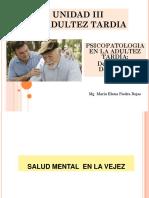 Adultez Tardía Patologías Comunes