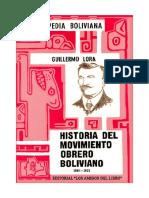 Guillermo Lora Tomo 2 (1900 1923)