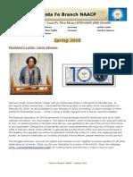 Santa Fe NAACP Spring Newsletter