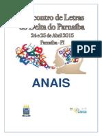 Anais Do I Eencontro de Letras do Delta do Parnaíba