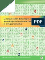 La Comunicación de Los Logros de Aprendizaje de Los Alumnos Desde El