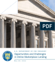 Opportunities and Challenges in Online Marketplace Lending White Paper