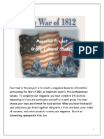 War of 1812 Magazine Project All Sections