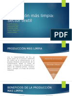 Produción Mas Limpia Sector Textil