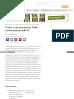 Cómo Usar Una Unidad Flash Como Memoria RAM