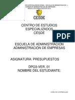 Guía Presupuestos 2014-2