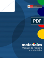 Manual Materiales en La IE - Módulo de Registro