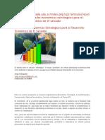 Actividades Economicas Del Salvador