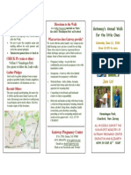 Walk 2016 3 Fold Brochure Church