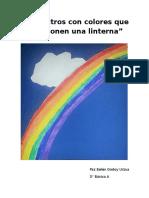 Espectros Con Colores Que Componen Una Linterna