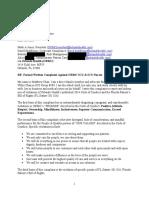 ORMC (Orlando Regional Medical Center) ICU Complaint