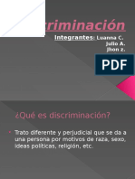 Discrimi Nación