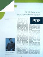 Büyük Hayırsever Hacı Zeynel Abidin Tağıyev