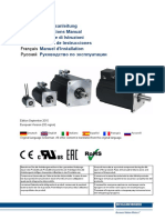 Kollmorgen AKM Synchron Servomotor Manual de en It Es Fr Ru