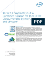 Trusted, Compliant Cloud