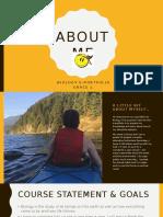 about me e portfolio powerpoint  1