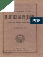 balistyka wewnetrzna 1920