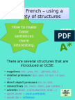GCSE French Complex Structures Corrected Version