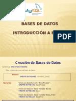 2da Charla - Introduccion a Bd