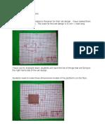 the set design instructions