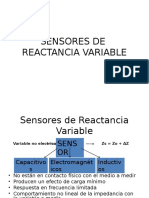 Sensores Reactancia Variable