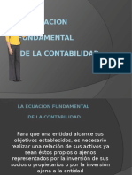 La Ecuacion Fundamental de La Contabilidad