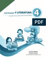 Lengua y Literatura 4-Docente