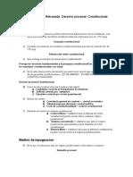 Cuestionario 1era Retrasada Derecho Procesal Constitucional