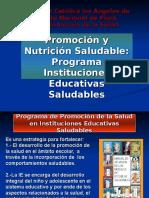 Programa de Inst Educativas Saludables