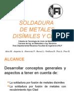 Presentación Clad and Dissimilar Metals